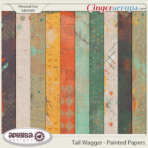 Tail Wagger - Painted Papers