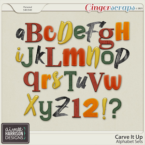 Carve It Up Alpha Sets by Aimee Harrison