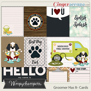 Groomer Has It- Cards