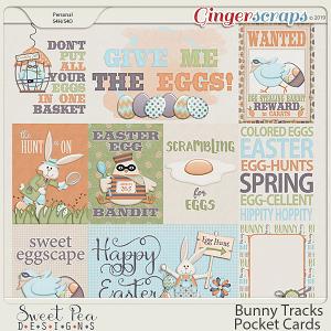 Bunny Tracks Pocket Cards