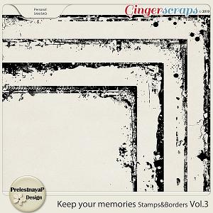 Keep your memories Stamps&Borders Vol.3
