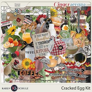 Cracked Egg Kit by Karen Schulz