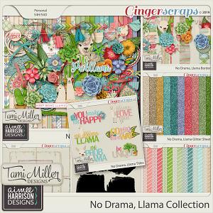 No Drama Llama Bundle by Tami Miller Designs