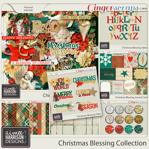 Christmas Blessing Collection by Aimee Harrison