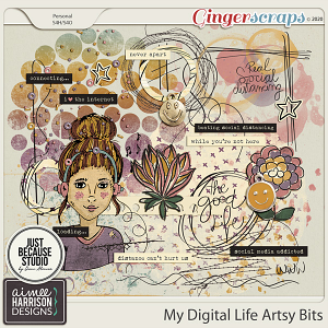 My Digital Life Artsy Bits by Aimee Harrison and JB Studio