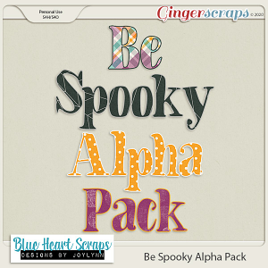 Be Spooky Alpha Pack