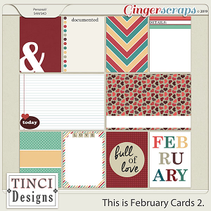 This is February Cards 2.