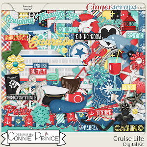Cruise Life - Kit by Connie Prince