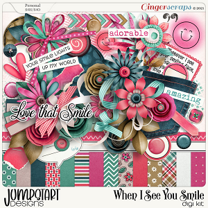 When I See You Smile {Kit} by Jumpstart Designs