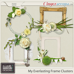 My Everlasting Frame Clusters by Aimee Harrison