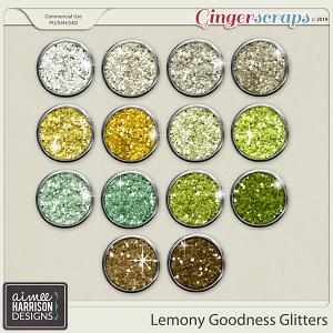 Lemony Goodness Glitters by Aimee Harrison