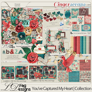 You've Captured My Heart: The Collection by LDragDesigns