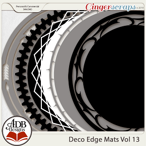 Deco Mats Vol 13 by ADB Designs