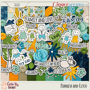 Family & Love Page Kit