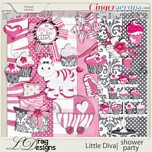 Little Diva: Shower Party by LDragDesigns