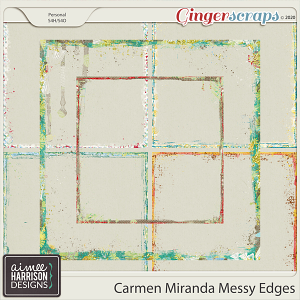 Carmen Miranda Messy Edges by Aimee Harrison