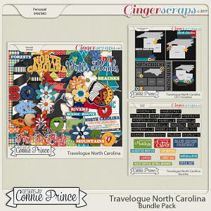 Travelogue North Carolina - Bundle Pack