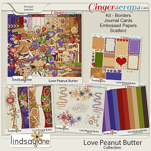 Love Peanut Butter Collection by Lindsay Jane