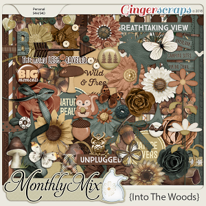 GingerBread Ladies Monthly Mix: Into The Woods
