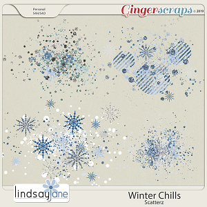 Winter Chills Scatterz by Lindsay Jane