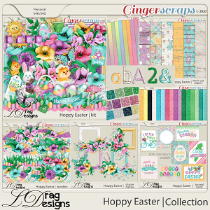 Hoppy Easter: The Collection by LDragDesigns