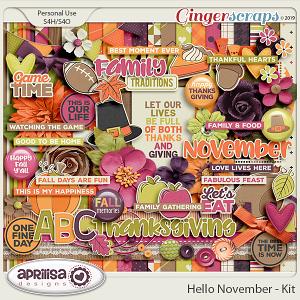 Hello November - Kit
