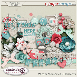 Winter Memories - Elements by Aprilisa Designs