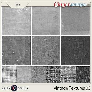 Vintage Textures 03 by Karen Schulz