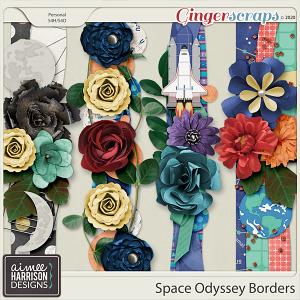 Space Odyssey Borders by Aimee Harrison