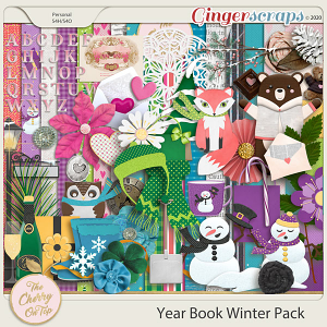 The Cherry On Top:  Yearbook Winter Pack
