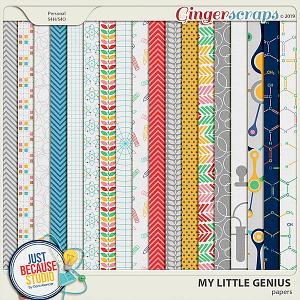 My Little Genius Papers by JB Studio