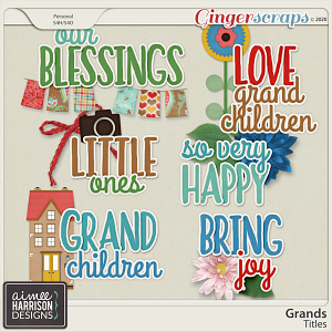 Grands Titles by Aimee Harrison