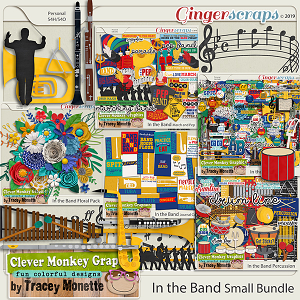 In the Band Small Bundle by Clever Monkey Graphics