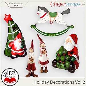 Holiday Decorations Vol 2 by ADB Designs