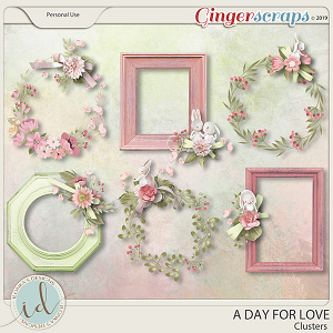 A Day For Love Clusters by Ilonka's Designs