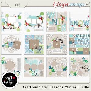 Craft-Templates Seasons Winter Bundle