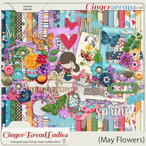 GingerBread Ladies Collab: May Flowers
