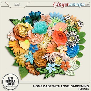 Homemade With Love: Gardening Flowers by JB Studio
