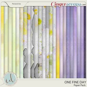 One Fine Day Paper Pack by Ilonka's Designs