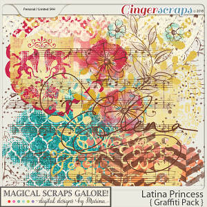 Latina Princess (graffiti pack)