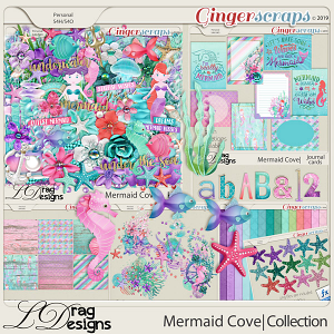 Mermaid Cove: The Collection by LDragDesigns