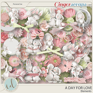 A Day For Love Elements by Ilonka's Designs