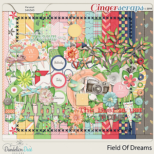Field Of Dreams Digital Scrapbook Kit by Dandelion Dust Designs