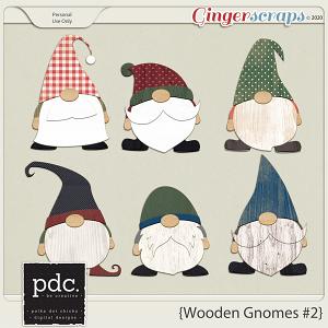 Polka Dot Chicks: Wooden Gnomes #2