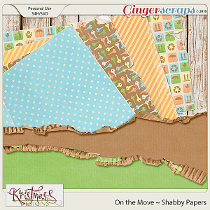 On the Move Shabby Papers