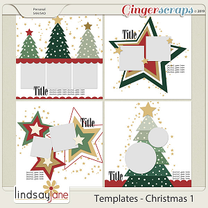 Templates - Christmas 1 by Lindsay Jane