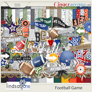 Football Game by Lindsay Jane