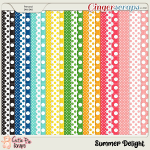 Summer Delight Pattern Papers