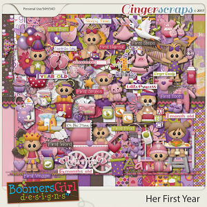 Her First Year by BoomersGirl Designs