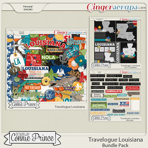 Travelogue Louisiana - Bundle Pack